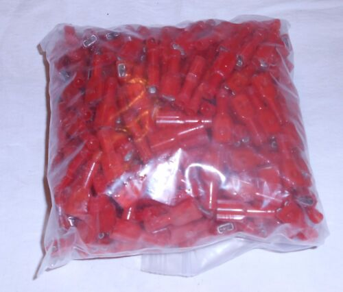 THOMAS & BETTS RA 2573 RED CRIMP FEMALE CONNECTERS LOT OF 400