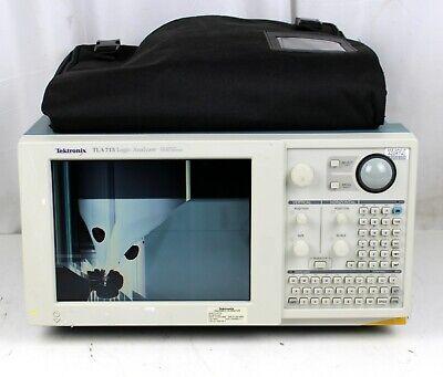 Tektronix Tla 715 Logic Analyzer W Tla7pg2 Tla7aa3 No Hdd Cracked Screen Parts