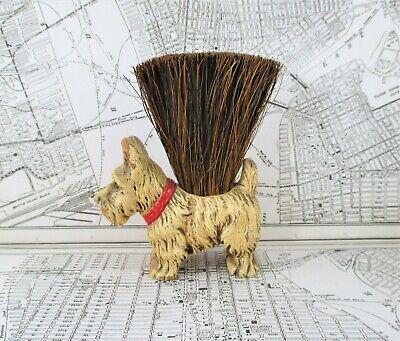 Vintage Scottie Dog Wisk Broom / Clothes Brush