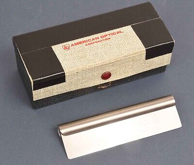 American Optical 120mm Microtome Knife In Original Box Needs Sharpening