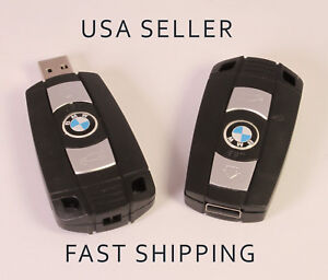 NEW 16GB BMW USB Flash Drive in the style of a Car Key! Unique Novelty