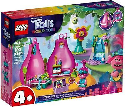 LEGO 41251 DreamWorks: Trolls World Tour - Poppy's Pod, Playset BNIB