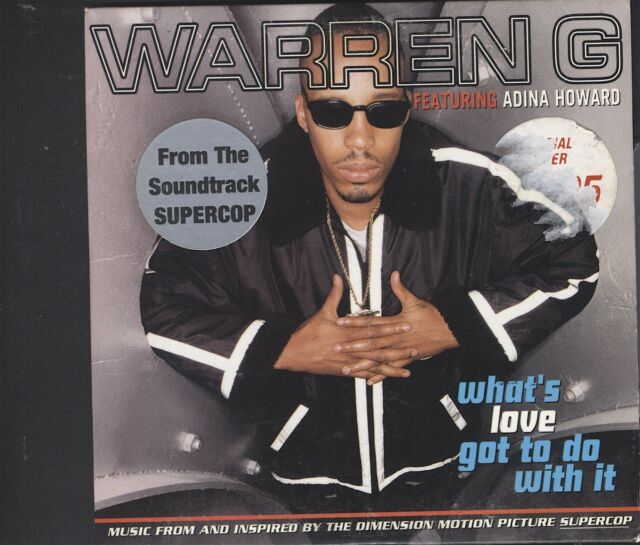 Warren G Ft Adina Howard - What's Love Got to Do With It CD