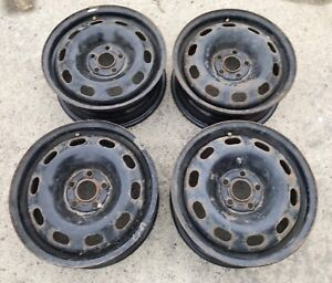 """15"""" steel rims. 5 x 100 bolt.  6"""" wide.  Good condition"""