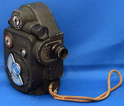 REVERE EIGHT Double 8 Model 88 Vintage Movie 8mm Film Camera USA CLEAN! AS IS