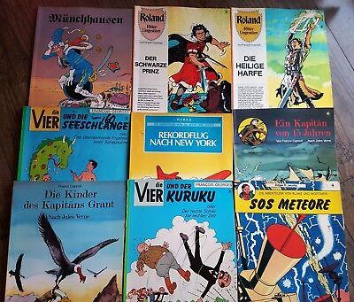 Konvolut Carlsen Comics, 9 Stück, Trödel Flohmarkt