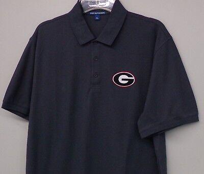 (University of Georgia Bulldogs NCAA Mens Embroidered Polo XS-6XL, LT-4XLT New)