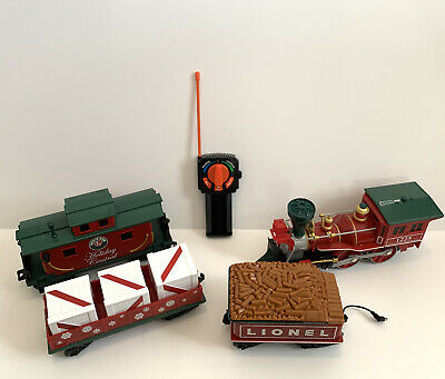 Lionel Holiday Central Christmas Train Set With Remote ***Fast Free Shipping***