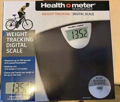 Health o meter Weight Tracking Digital Scale hdm770-05 Black