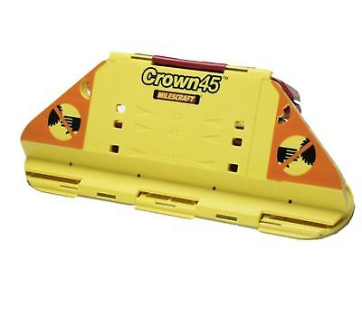 Milescraft 1405 Crown45 Crown Molding Cutting Jig for Miter Saws (Cut Crown Molding Cutting Jig)