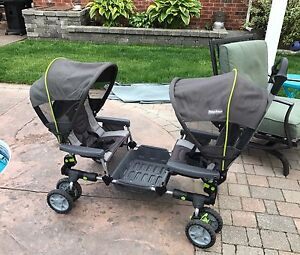 Fisher Price Active Gear Twin Stroller Wagon Travel System