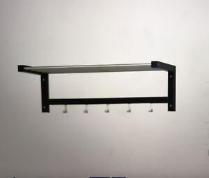 Shelf / hat rack - IKEA TJUSIG black Avalon Pittwater Area Preview