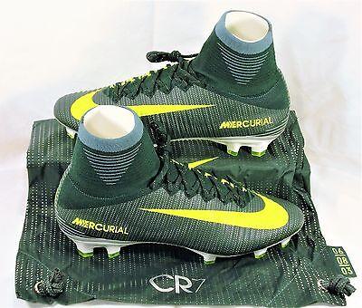 Nike Mercurial Superfly V CR7 FG Ronaldo Volt Soccer Cleats Sz 9 NEW 852511 376