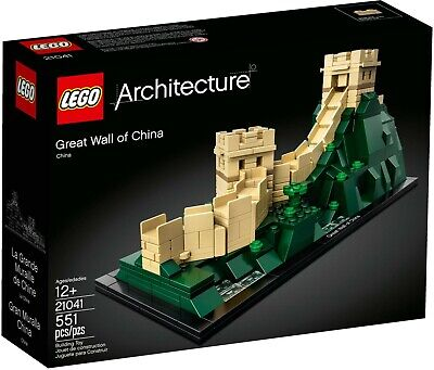 New LEGO 21041 Architecture Great Wall of China Asia Retired Famous Landmark Set
