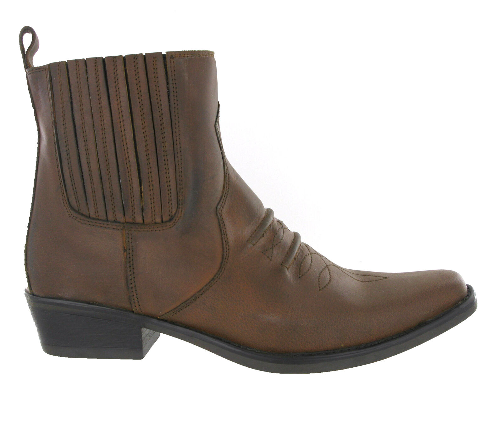 "Leather Toe Round 11"" Ed Limited Uomo Lucchese Western"