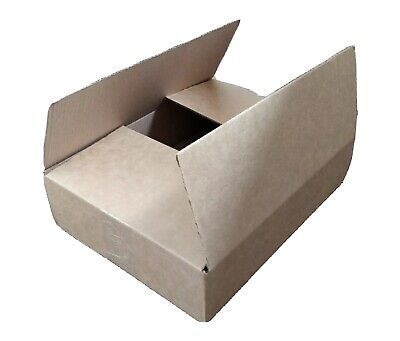 Single wall cardboard boxes - 12x9x3 inches  (305x229x76 mm) - pack of 25