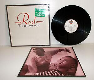 COMMUNARDS-Red-LP-Spain-1987-Polygram-828066-1-NM