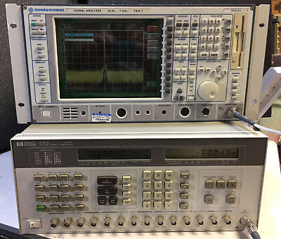 Hp - Agilent - Keysight 8782b Vector Signal Generator Option 001