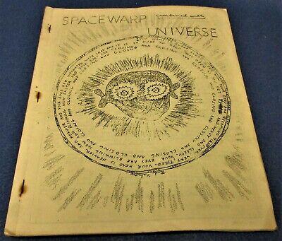 SPACEWARP #22 Art Rapp sf fanzine Jan. 1949