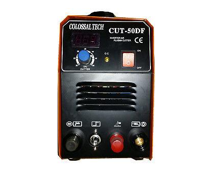 Plasma Cutter Pilot Arc Cut50df 50amp 110v220v Dual Voltage 27 Consumables