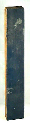 Vintage Wood Letterpress Print Type Printers Block Letter I 10 Patina