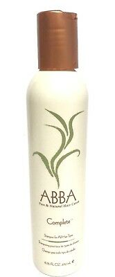 ABBA Complete Shampoo for all Hair Types, 6.75 oz.