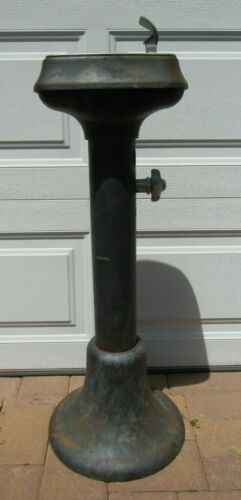 Vintage/Antique 1920s/30s Taylor Public Outdoor Water Drinking Fountain Bubbler