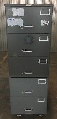 Mosler 5 Drawer File Safe Sfc 5 Security Cabinet W X09 Digital Lock