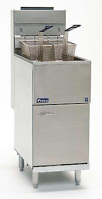 Pitco 35cs 35 Lb. Capacity Economy Gas Deep Fryer W Millivolt Control