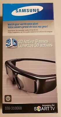 Samsung SSG-3100GB Active 3D Glasses Accessory For Smart TV