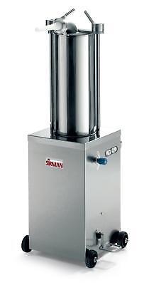 Sirman Is 15 Idra 32lb Capacity Vertical Hydraulic Sausage Stuffer