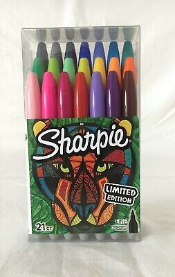 Sharpie Fine Point Tip Permanent Markers Limited Edition 21 Count Pack