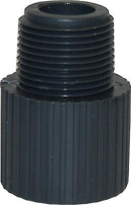 New Lot Of 10 Pcs. Sch 80 Pvc 6 Male Adapter Socket X Male Npt Thread