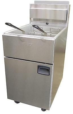 Anets Slg100 Silverline Gas Fryer 70 - 100lb Capacity 150000 Btu