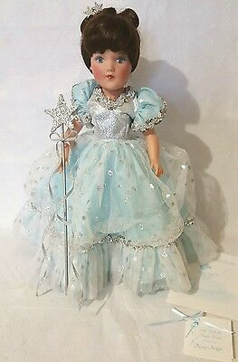 MARY HOYER...THE DOLL WITH THE MAGIC WAND IN ORIGINAL BOX,COA,TAG