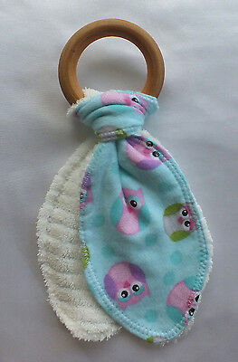 Natural Maple Teething Ring - Better Non Toxic Choice 4 Baby  - Animal