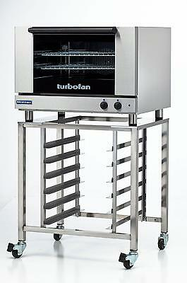 Moffat E27m2sk2731u Electric Convection Oven Full Size 2 Pan W Mobile Stand