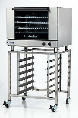 Moffat E28m4sk2731u Electric Convection Oven Full Size 4 Pan W Mobile Stand