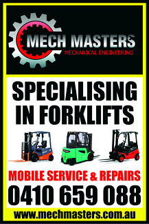Mech Masters Mobile Forklift Service and Repairs Pty Ltd Welshpool Canning Area Preview