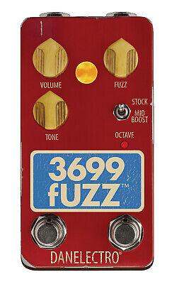 Danelectro Fuzz Effect Pedal 3699 True Bypass No Transistors