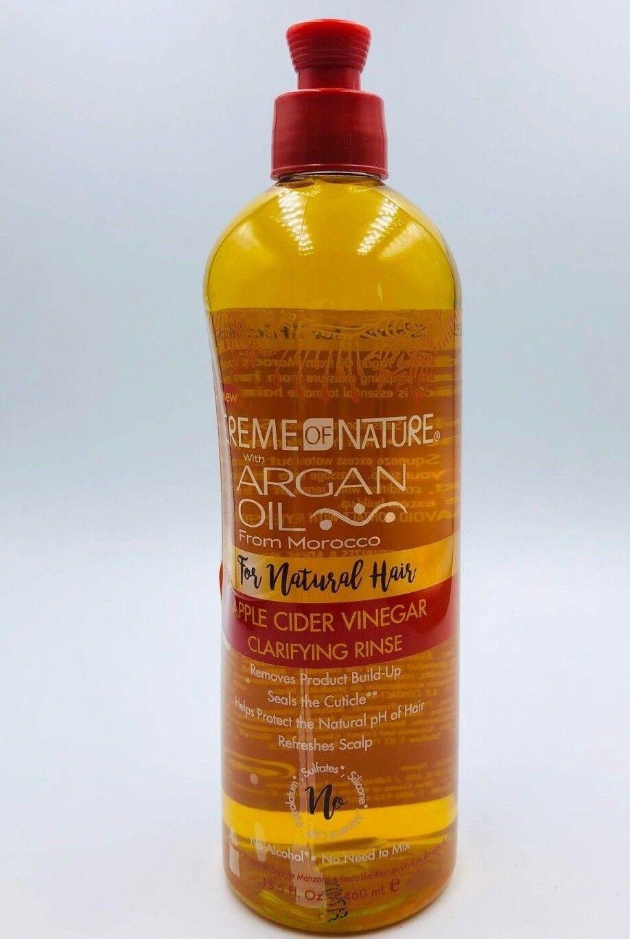Cream Of Nature Apple cider vinegar clirifyng Rinse