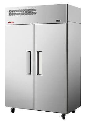 Turbo Air Er47-2-n6-v E-series Double Door 42.1 Cuft Top Mount Refrigerator