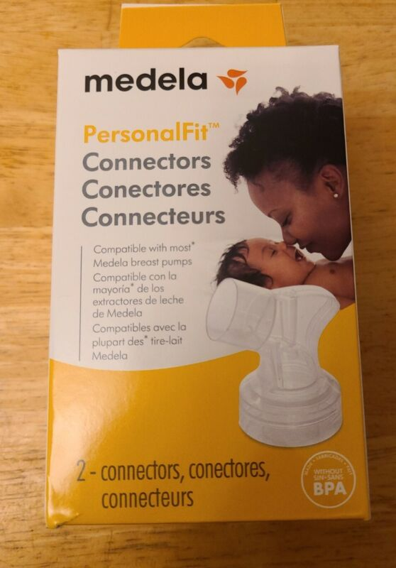 New Medela Spare or Replacement PersonalFit Connectors FREE SHIPPING