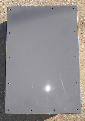 New Non Metalic Enclosure Junction Box 24x16x6 Inch Deep Screw Cover Ships Today
