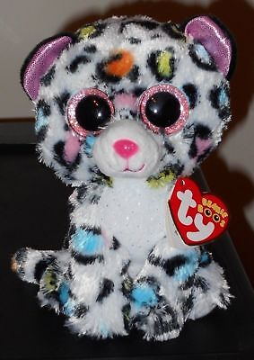 Ty Beanie Boos ~ TILLEY the 6 Inch Leopard - Claire's Exclusive ~ 2018 NEW