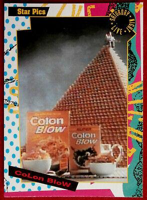 SATURDAY NIGHT LIVE - Card #136 - COLON BLOW - Star Pics 1992