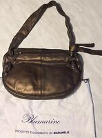 Blumarine Borsa In Pelle Colore Bronzo - blumarine - ebay.it