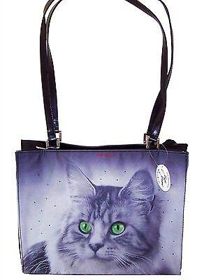 Katzen Tasche Groß Handtasche Katze Design Mario Moreno Neu OVP Kitten