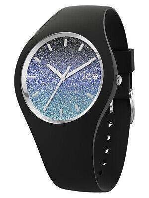 Ice-Watch Ice-Lo Milky Way Uhr Damenuhr Kautschuk Schwarz 015606 (Ice Uhren)