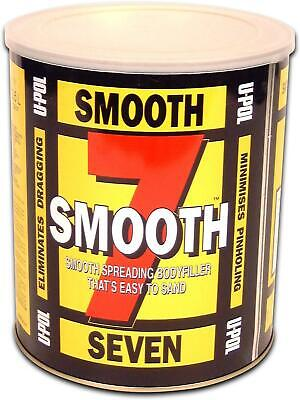 U-Pol Smooth 7 Easy Sand Body Filler 3L Deep Repairs High Adhesion UPol